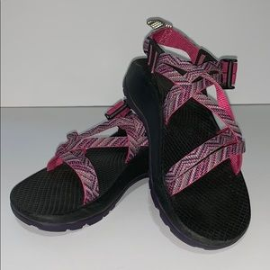 Girls Pink Chaco sandals size 13